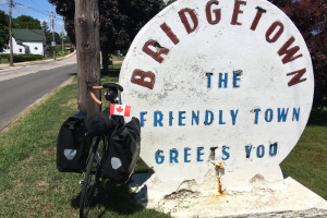 "Figure 13: Bridgetown was far from the only friendly town in Nova Scotia – a province where people really have ""time to chat."""