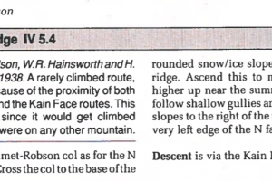 The guidebook didn't provide much more information on the route - but it sounded like a great adventure: