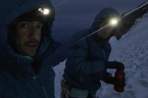 Resetting at the top of the Kautz Ice Chute